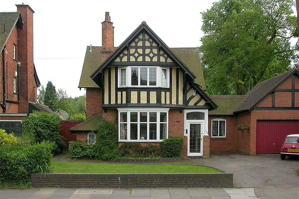 Some Photos Of Houses On The Bournville Estate