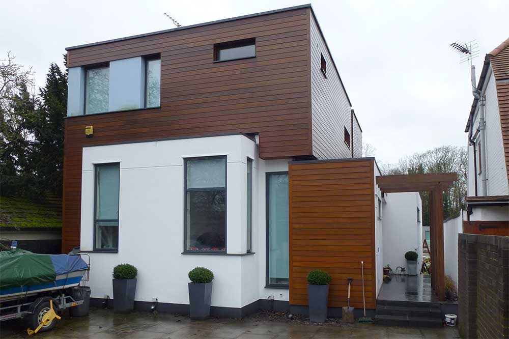 Some Modern Houses In The London Borough Of Richmond