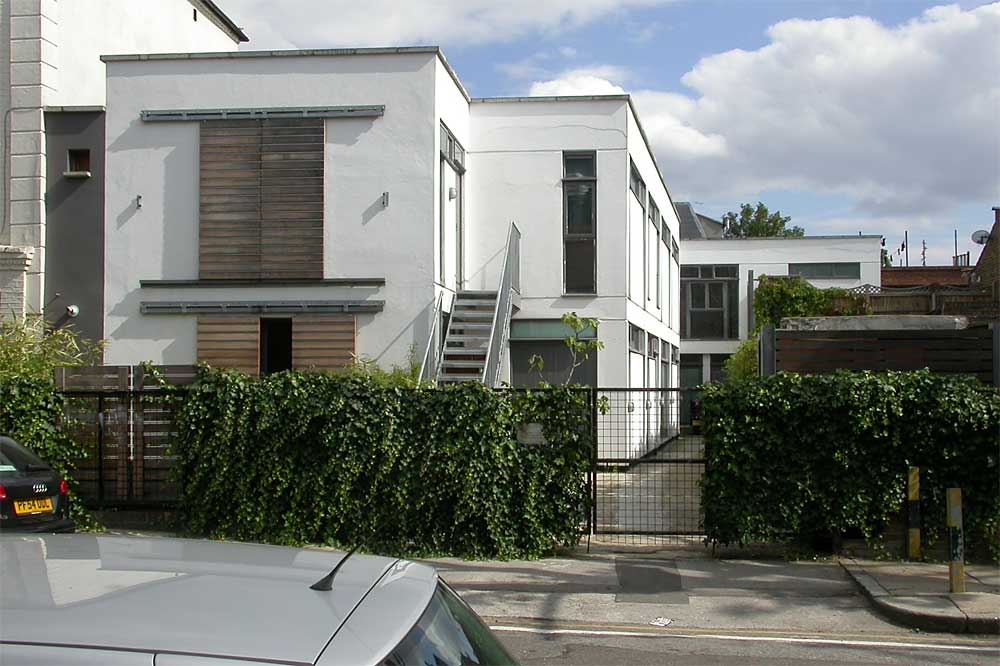 Some Modern Houses In The London Borough Of Islington North