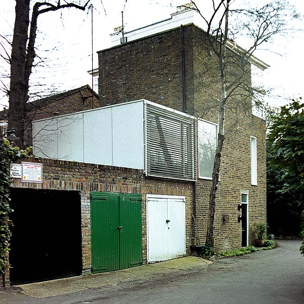 Modern houses in camden for Contemporary self build homes