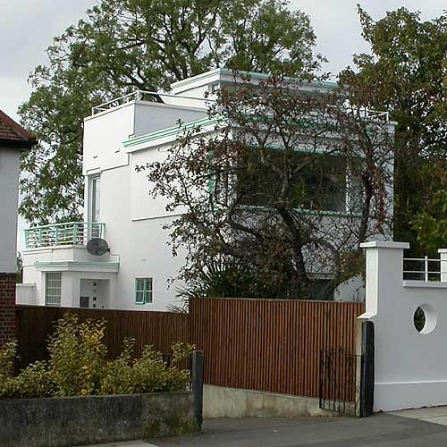 Modern Houses In The London Borough Of Lewisham