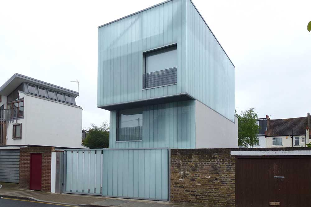 Some Modern Houses In The London Borough Of Lambeth