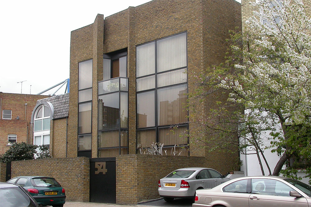 Modern houses in the london borough of hammersmith and fulham for Modern house london