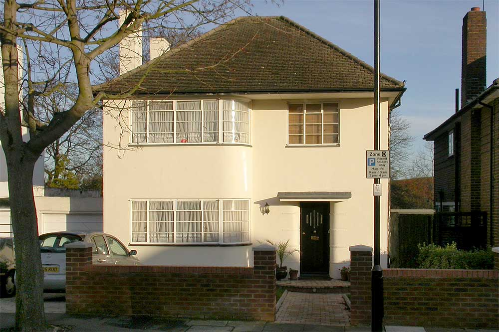Modern Houses In The London Borough Of Ealing
