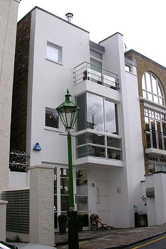 Front Elevation Of Houses In London : Some modern houses in the london borough of kensington and