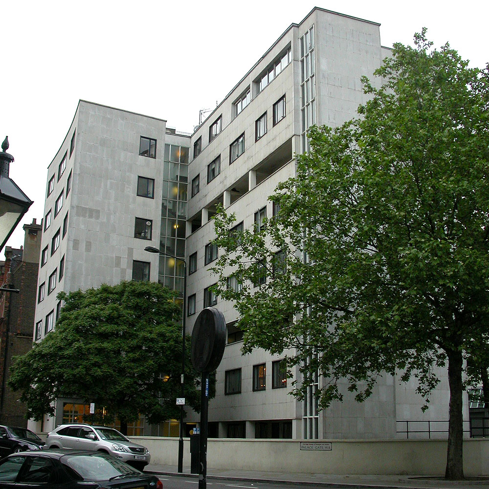 Some Modern Houses In The London Borough Of Kensington And